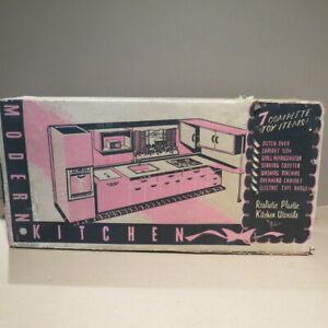 T. COHN  Modern Kitchen playset #780,  1950s,  MIB