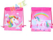 Unicorn Non-Woven Drawstring Bag Swimming Backpack Storage Bag Kids Gift