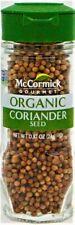 McCormick Gourmet USDA Organic Non-GMO Coriander Seed 0.87oz