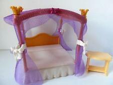 Playmobil Four poster bed New palace/Victorian dollshouse/castle furniture