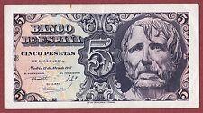 SPAIN. 5 Pesetas de 1947 Sin Serie  ( EBC / XF )