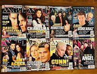 Angel Magazine Lot Of 8 - Buffy The Vampire Slayer BTVS David Boreanaz