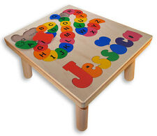 Personalized Name Puzzle Stool | Alphabet ABC | Customize with Your Childs Name!