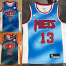Brooklyn Nets #11 Irving #13 Harden #7 Durant Blue City Edition Mens Sewn Jersey