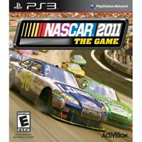 NASCAR The Game 2011 For PlayStation 3 PS3 Racing 5E