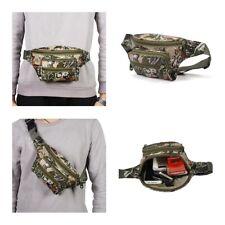 Men Camo Combat Sport Fanny Pack Waist Bag Travel Belt Pouch Outdoor Phone Purse