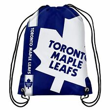 Toronto Maple Leafs Back Pack/Sack Drawstring Bag/Tote New backpack Side Stripe