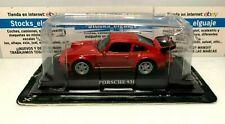 IXO DEL PRADO 1/43 DIECAST PORSCHE 930 ROJO  COCHE DE SERIE MINIATURE MODEL CAR