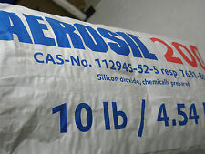 Professional resin filler *Fumed silica* *makes hard putties*Aerosil* 10lb. Bag