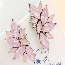 1Pair Earrings Jewelry Fashion Women Crystal Rhinestone Ear Drop Dangle Ear Stud