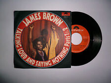 JAMES BROWN TALKING LOUD AND SAYING NOTHING PT. 1-2 POLYDOR 2066174 OTTIMO