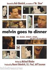 Melvin Goes to Dinner (DVD CANADIAN) Michael Blieden, Bob Odenkirk, SEX, RELIGIO