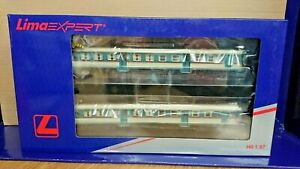 HORNBY LIMA HL2653 Set of 2 FS curved glass diesel railcars Period IV-V NEW