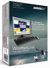 DAVIS INSTRUMENTS MODEL 6510USB WeatherLink Software, Windows USB Version