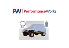 Rugged Ridge For 55-06 Jeep CJ/Wrangler YJ/TJ Car Cover Kit Full 13321.72