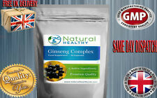 GINSENG COMPLEX SUPER FORMULA WITH GUARANA, CAPSICUM, KELP & APPLE CIDER VINEGAR