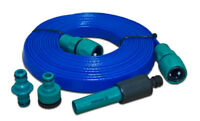 10m FLAT HOSE for Caravan Motorhome Aquasource extension made in Britain