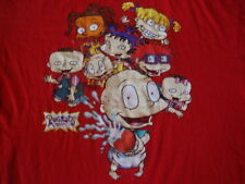 RUGRATS Kids TV Show Television punk rock T Shirt Men's L