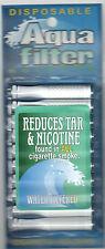 Aqua Filter Tar and Nicotine Filtered Disposable Cigarette Holders 10 in a pack