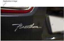 BRENTHON Letterring Cursive Emblem 1ea For Hyundai Kia Universal Vehicle