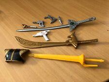 Power rangers shogun sword , assault megazord sword & various spares