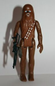 Vintage Star Wars Complete Chewbacca Action Figure - 1977 - C9+ - HONG KONG