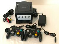 Nintendo GameCube DOL001 Gaming System Console Gameboy Player 2 Controller Black