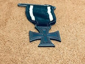 Vintage Lowell Toy Military WWI Iron Cross Mini Medal #12 Reproduction 1950-60's