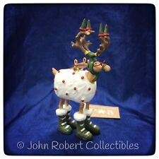 PATIENCE BREWSTER KRINKLES MINI BLITZEN ORNAMENT DASH AWAY #08-30656