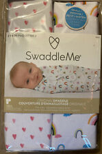 Swaddle Me Adjustable Baby Wrap Small/Medium Pink 0-3 Months 2 Pack NEW
