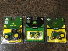 Athearn Lot of 3 John Deere 7820, Model D and Model G Tractors 1:50 Scale