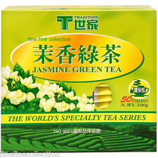 TRADITION JASMINE Green Tea 50 tea bags  n. wt 100 g