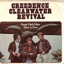 Creedence Clearwater Revival Sweet Hitch-Hiker b/w Door to Door 45-rpm Record
