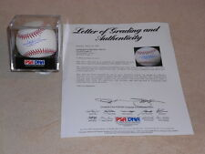 Jake Peavy Signed Official MLB Baseball PSA/DNA FULL LETTER