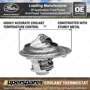 Gates Thermostat Kit for Toyota Celica RA23 28 60 61 Corolla KE20 25 30 35 70