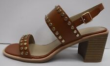 G.H. Bass & Co Size 8 Brown Leather Dress Sandals New Womens Shoes