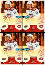 4x UD McDONALD 2009 SAKU KOIVU MONTREAL CANADIENS MINT SUPERSTAR CARDS #26 LOT