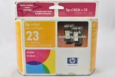 HP Inkjet print cartridge 23 tricolor Twin Pack Dec 2002 New Sealed Box