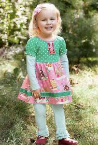 NWT Girls MATILDA JANE Wonderment Gingerbread Village Dress size 10 NEW