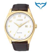 Citizen Elegant Herren Armbanduhr BM7322-06A Eco-Drive Solar 10bar Herrenuhr NEU