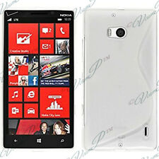Housses Coque Etui Blanc TPU S Silicone GEL Motif S S-line Vague Nokia Lumia 930