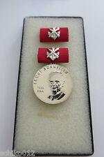 Ernst Schneller Medaille in Silber - Original - Top