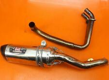 2013-2017 KAWASAKI NINJA EX300 CHROME YOSHIMURA FULL EXHAUST SYSTEM HEADERS PIPE