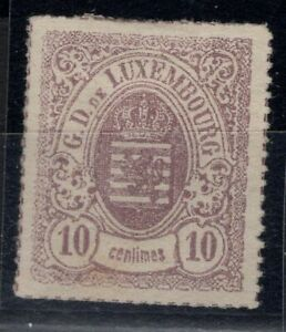 G128549 / LUXEMBOURG CLASSICS / Y&T # 17a MNG (*) CV 200 $