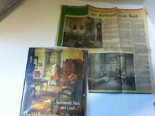 Vintage Williamsburg Collection of Antique Furnishings Hardcover Book w/Article