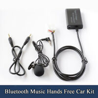 Bluetooth Music Hands Free Car Interface AUX Adapter For Honda Accord Civic CRV