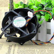 SUNON MagLev KDE1209PTVX 90/80x25mm CPU Round Cooling Fan 12V  4Pin #M264 QL