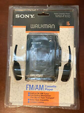 Sony Walkman WM-FX10 AM/FM Stereo Cassette Player + Headset - NEW SEALED