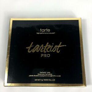 Tarte Tarteist Pro Amazonian Clay eyeshadow palette 20 shades New in Package