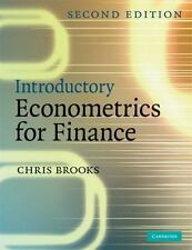 Introductory Econometrics for Finance by Chris Brooks (2008, Paperback, Revised)